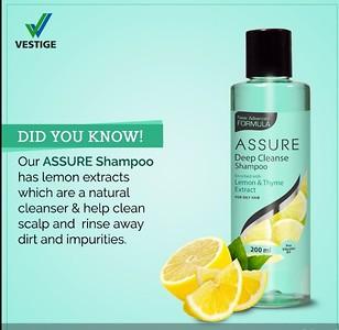Assure Deep cleanse shampoo
