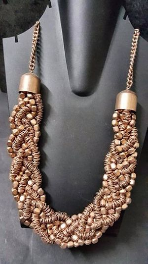 Handmade cpper necklace