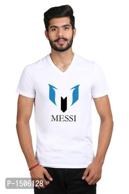 New Design For Football Lover Casual Printed White Tshirt