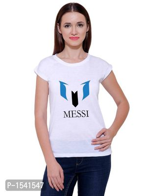 New Design For Football Lover Casual Printed White T-shirt
