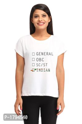 Right Choice Casual White Printed T-shirt