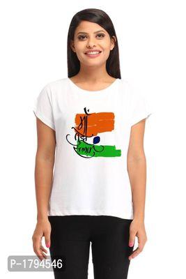 Ma Tujhe Salaam Casual White Printed T-shirt