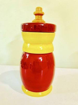 Wooden storage jars