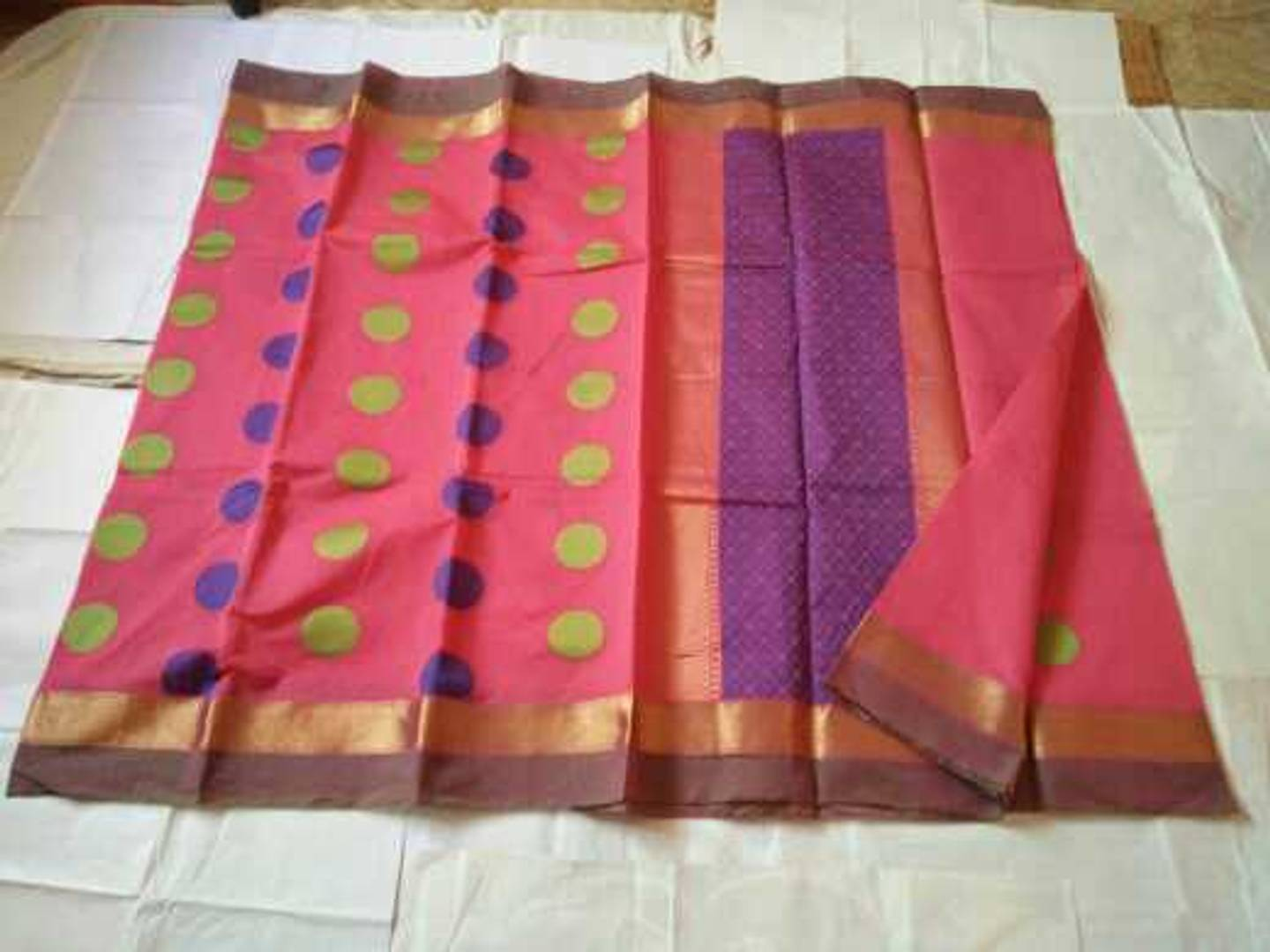 Silk Cotton Material Plain Saree Price 1000 Saranya Charu Chennai For Sale Looking For Resellers