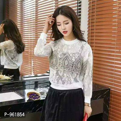 Beautiful Patch work Lace Top*