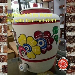 Terracotta water pot