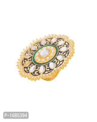 Pearl Beaded Traditional Ring