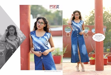 Outfit Vol-2 Kurti , Full catalog piece of 10