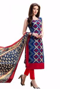 Summer Special Suits Cotton Dress Material For Casual Wear