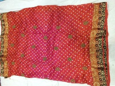 Jacquard Silk Sarees with Embroidery work