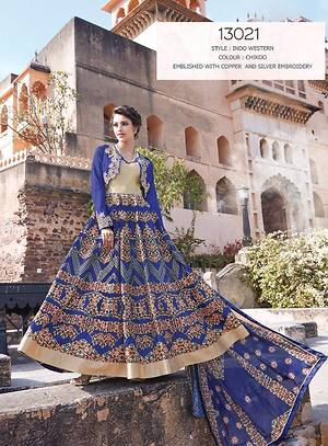 Indo- Western Silk Collection