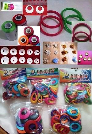 Silk thread Jewelry making Beginners Kit