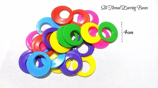 Chanbali bases for silk thread wrapping