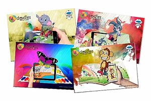 Live 5D Colouring books (pack of 4 books)
