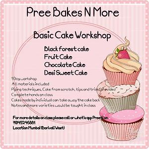 Basic Eggless Cake Workshop