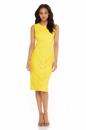 Taylor Yellow Sunny Dress