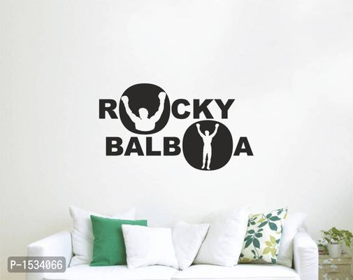 Multicoloured Rocky Balboa Vinyl Wall Stickers
