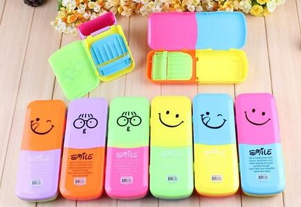 2 in 1 Pencil Box With Pen Stand Super Quality