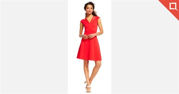 Adrianna Papell Red Dress