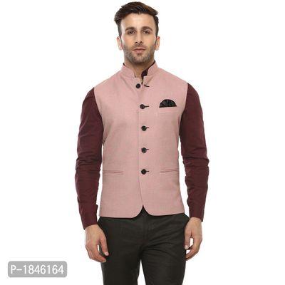 Pink Blended  Nehru Jackets