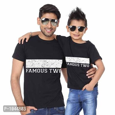 Famous Two Dad & Son Tees Combo