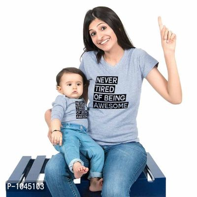 Grey Never Tired Of Being Awesome Family Tees Combos