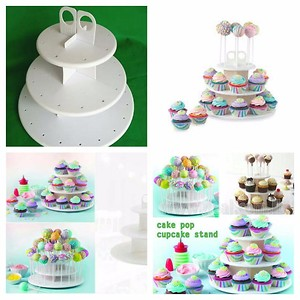 Cake pop cup cake stand