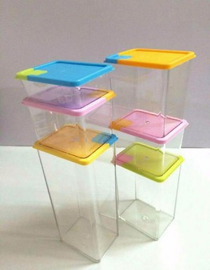 Airtight container 6 pack
