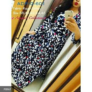 CODE G1AR00001 *ADP Gown-*  Presenting the ADP Gown colorful and gorgeous  one piece dress which helps to increase the fashionable collection of your wardrobe. AT JUST RS 699!!!😍😍  ONLY FEW PCS LEFT!! HURRY !!! OEDER NOW