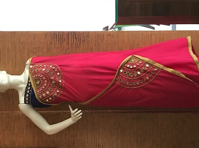 Hand Work Embroidery Saree Buy Latest Collections Page 2 Glowroad