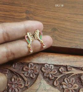 One gram gold earrings buy latest collections page 2 glowroad one gram gold plated earrings guaranteed for regular use each diffrent price all kess aloadofball Gallery