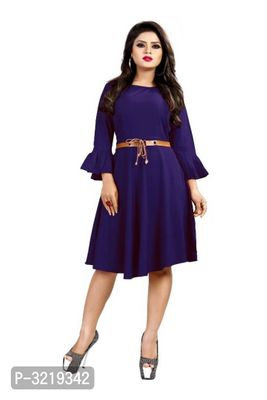 American Crepe Dresses For Women's