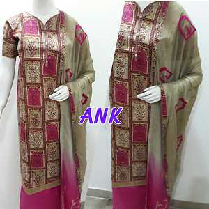 cotton suit with heavy duppatta