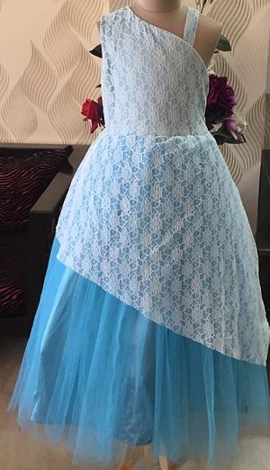 Kids Party Wear ball Gown