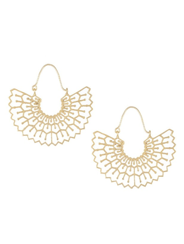 Beautiful Designer Gold Plated Necklace And Earrings - Buy latest ...