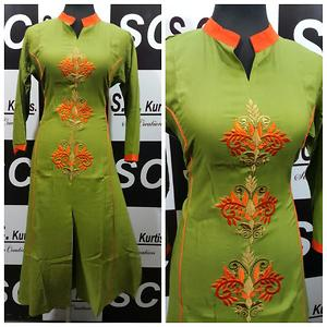 sc rayon embroidery work