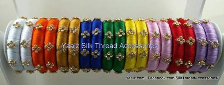 two bangles customized colors