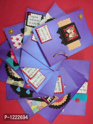 Reasons why I love you card handcraft