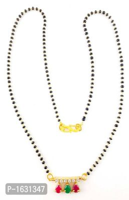 gold plated trendy MANGALSUTRA