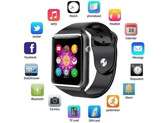 A1 Smartwatch With Multiple Fuctions Compatible With Andriod & Apple Assorted Colour