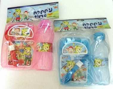 Happy time lunch box set