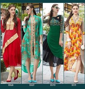 Western fashion designer kurtis