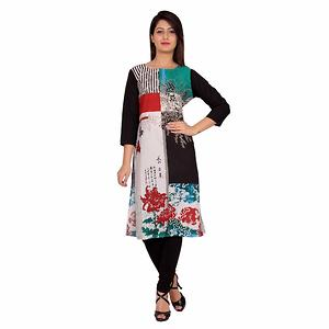 Cotton Cambric  Printed Kurti