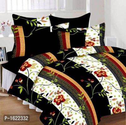 Weave Well Cotton Double Bedhseet With Pillow Covers