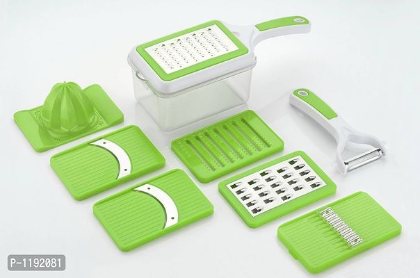 Sigma Green 8in1 Slicer / Grater / Juicer