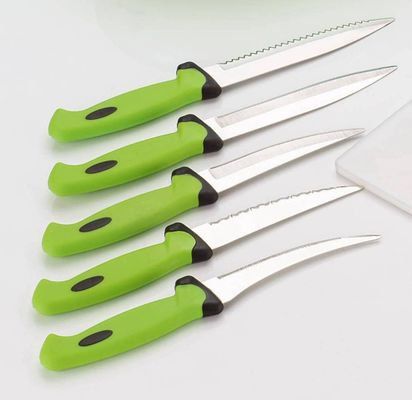 5 pcs Green Knife