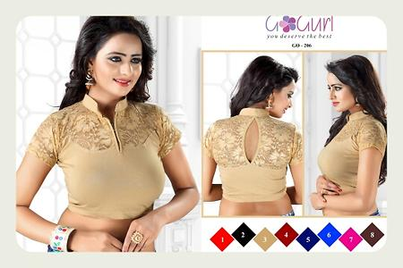 Readymade stretchable blouse