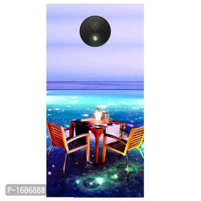 Open Dining Printed Case Cover For Motorola C