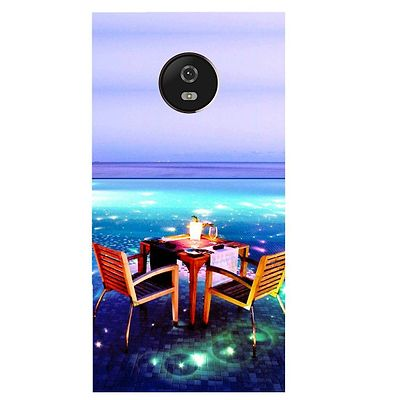 Open Dining Printed Case Cover For Motorola G5