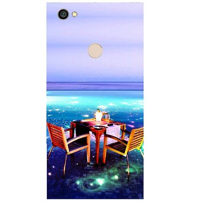 Open Dining Printed Case Cover For Redmi Y1